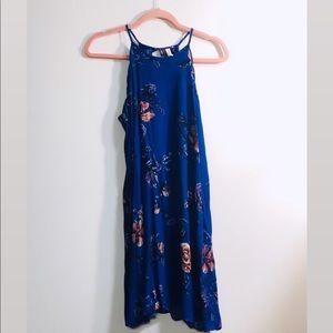 Navy Floral Forever 21 Dress